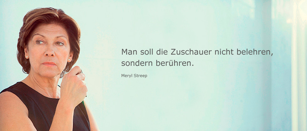 Zitat Streep